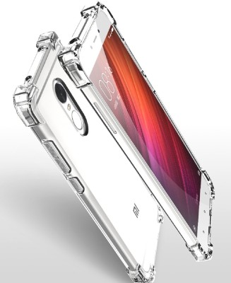 Bracevor Back Cover for Mi Redmi Note 4(Transparent, Shock Proof, Silicon)