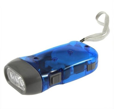 Gadget Deals hand pressing flash light Emergency Lights(Assorted)  available at flipkart for Rs.178