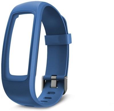 Omnix 107 PLUS HR Fitness Band(Blue)