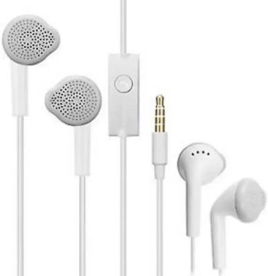Gskaa Smartbuy Wired Headphones Oppovivo Model Earphones Wired Headset with Mic(White, In the Ear)