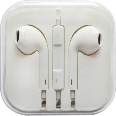BUY SURETY Earphone Headset for Samsung Galaxy S4 Wired Headset with Mic(White, In the Ear)