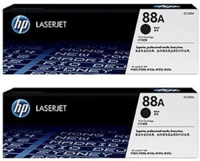 HP 88A Dual Pack Toner Cartridge Black Ink Toner