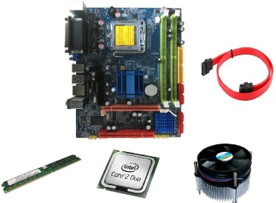 ZOONIS G31 (include core 2 duo 2.66, 2GB Ram,Cpu Fan) Motherboard
