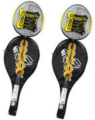 Cosco cb 885 Multicolor Strung Badminton Racquet Pack of: 2, 300 g Cosco Badminton Racquet