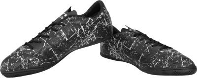 Nivia Encounter Futsal Shoes Running Shoes For Men(Black)  available at flipkart for Rs.499