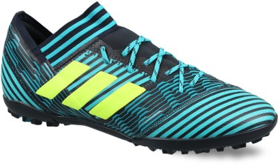 20d0606db300 Buy ADIDAS Nemeziz Tango 17.3 TF Football Shoes For Men(Blue) on Flipkart