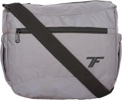 Fashion Track Men & Women Grey Polyester Sling Bag  available at flipkart for Rs.220
