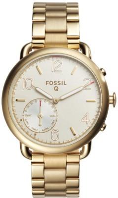 Fossil FTW1144 Q Hybrid Watch Smartwatch(Gold Strap Free Size) at flipkart