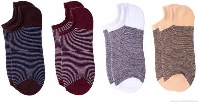 Polon Men's No Show Socks(Pack of 4)