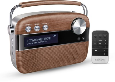 saregama Carvaan 6 W Bluetooth Home Audio Speaker(Oak Wood Brown, Stereo Channel)