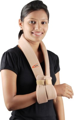 Saket Ortho Rehab International Private Limited Cuff & Collar Hand Support (Free Size, Beige)