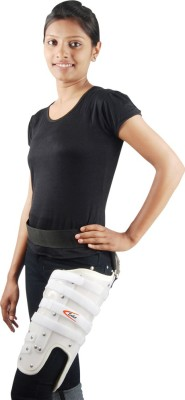 Saket Ortho Rehab International Private Limited Thigh Brace(P.V.C. with Pelvic Support) (Medium) Thigh Support (M, White)