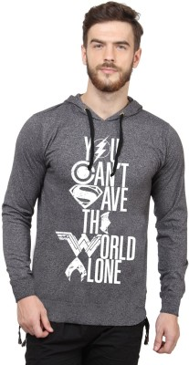 SayItLoud Justice League Full Sleeve Printed Men's Sweatshirt