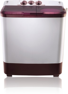 MarQ by Flipkart 6.5 kg Semi Automatic Top Load Washing Machine Maroon, White(MQSA65) (MarQ by Flipkart)  Buy Online