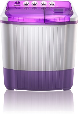 MarQ by Flipkart 7.5 kg Semi Automatic Top Load Washing Machine Purple, White(MQSA75) (MarQ by Flipkart)  Buy Online