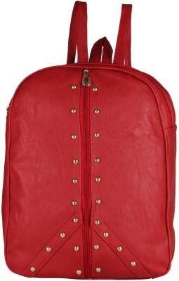 MAEVA Fashionable 20 L Backpack Red MAEVA Backpack Handbags