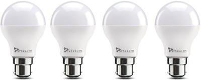 Syska 9 W Standard B22 LED Bulb(White, Pack of 4)