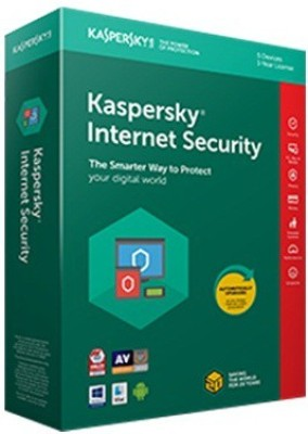 KASPERSKY Internet Security 2017 3 Pc 1 year (3cds,3 Serial Keys Every Key 1 year Validity)
