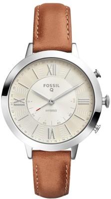 Fossil FTW5012 Hybrid Watch Smartwatch(Brown Strap Free Size)