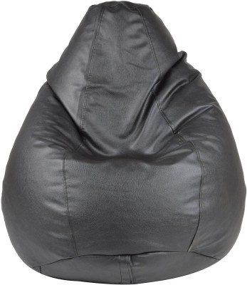 StyleCraft XXL Bean Bag Cover  (Without Beans)(Black)