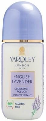 Yardley London 1 English Lavender Deodorant Roll-on - For Men & Women(Pack of 1) Deodorant Roll-on  -  For Men & Women(50 ml)  available at flipkart for Rs.188