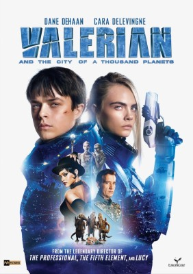 Valerian and the City of a Thousand Planets(DVD English)