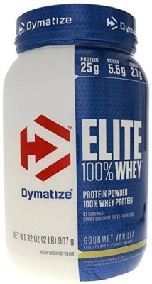 Dymatize Nutrition Elite Whey Protein (908gm / 2lbs, Vanilla)