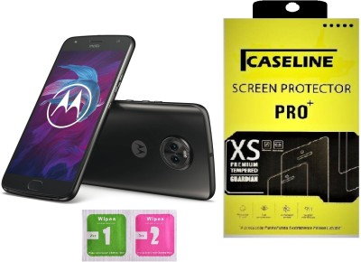 Caseline Tempered Glass Guard for Motorola Moto X4(Pack of 1)