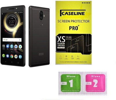 Caseline Tempered Glass Guard for Lenovo K8 Plus(Pack of 1)