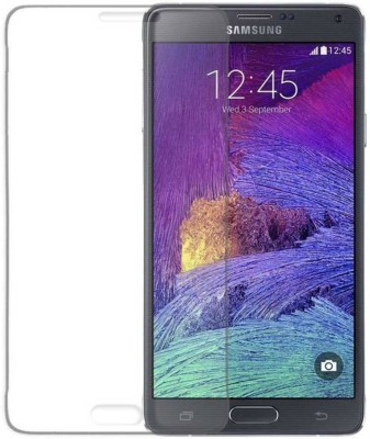 Bizone Tempered Glass Guard for Samsung Note 4(Pack of 1)