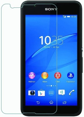 Bizone Tempered Glass Guard for SONY XPERIA E4(Pack of 1)