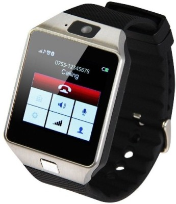 SYL Yezz Andy 5EI3 Silver Smartwatch(Black Strap Free Size) at flipkart