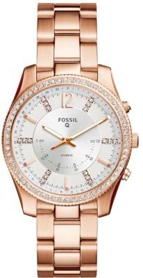 Fossil FTW5016 Hybrid Watch Smartwatch(Gold Strap Free Size)
