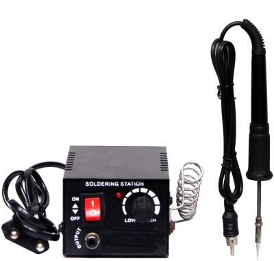BalRama Micro Soldering Iron Station with Micro Iron Pen Pencil Pointed Tip with Variable Wattage Temperature Controlled Power Unit + Soldering Pencil + Stand for SMD Rework Station, Micro Electronics, Mobile, Cell Phone, LCD, Jewellery, Dentist, Wax Designing, Electronic Gadget Repairing Tool 18 W