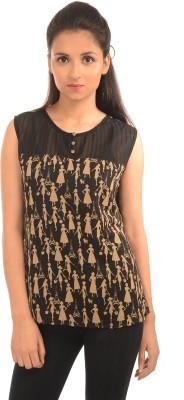 Harbinger Designs Casual Sleeveless Printed Women