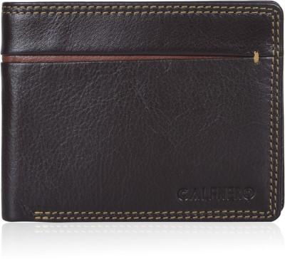 1b0e4cf5b0d26 41% OFF on Calfnero Men Brown Genuine Leather Wallet(3 Card Slots) on  Flipkart