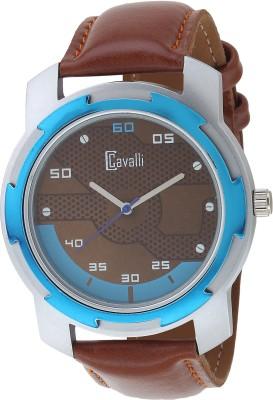 View Cavalli CW 449 Trendy Brown Blue Exclusive Watch - For Men Wrist  Watches Price Online 6d5de44ff87