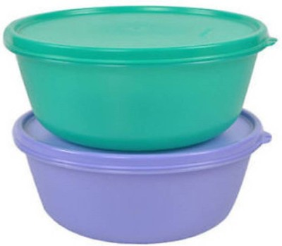 Tupperware SS Bowl 600ml Plastic Bowl Set(Multicolor, Pack of 2)  available at flipkart for Rs.298