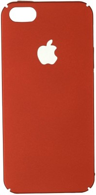 San Pareil Back Cover for Apple iPhone 5(Red, Grip Case)