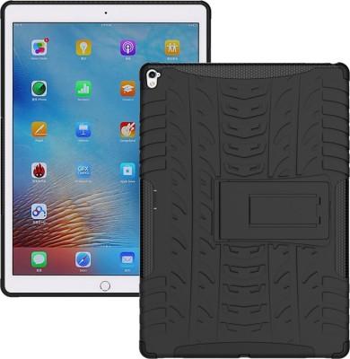 Aspir Back Cover for Apple iPad Air(Black, Rubber, Plastic)