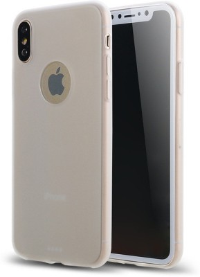 MPE Back Cover for Apple iPhone X Transparent
