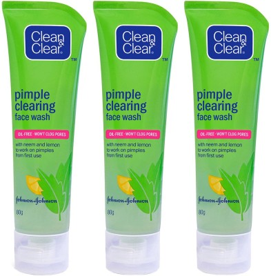 Clean & Clear Pimple Clearing Facial Wash Face Wash(240 g)