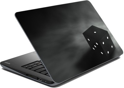 meSleep Black Dice Vinyl Laptop Decal 14.1