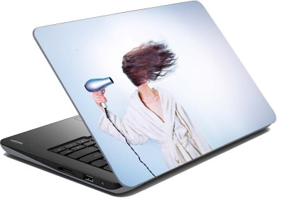 meSleep Hair Dryer Vinyl Laptop Decal 11.1  available at flipkart for Rs.199