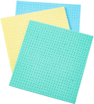 dannu wipes sponge mop,good for using gas stove wash,glass cleaning use,fridge clean,car glass clean,bike also clean,use wet and dry,before using wash and squeeze and use,colour as per stock,(set of 3) Wipes(Yellow, Multicolor)  available at flipkart for Rs.250