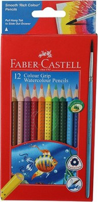 Faber-Castell Colour Pencils Triangular Shaped Pencil(Assorted)
