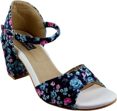 Mega Steps Women Multicolor Heels