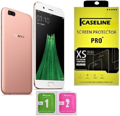 Caseline Tempered Glass Guard for Oppo R11 Plus(Pack of 1)