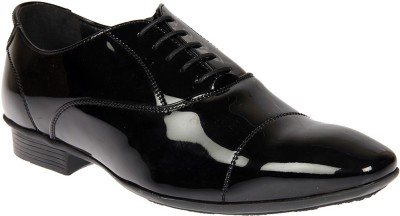 Knotty Derby Arthur Toe Cap Oxford Lace Up For Men(Black)