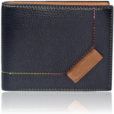Bizarre Kraftz Men Black Artificial Leather Wallet 8 Card Slots
